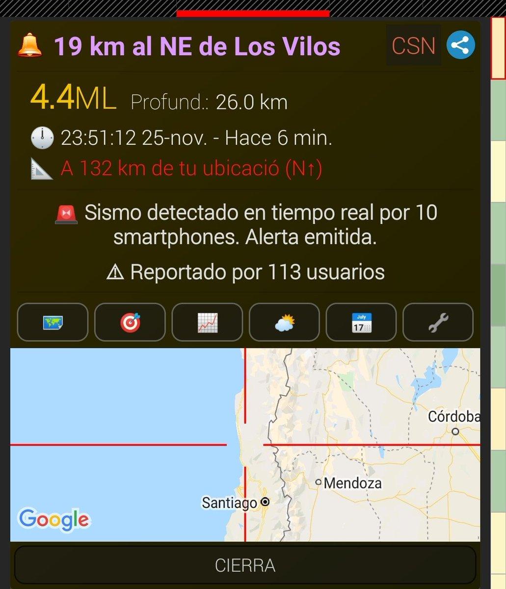 Sismo 4.4 Los Vilos https://t.co/NRHFjePM6I