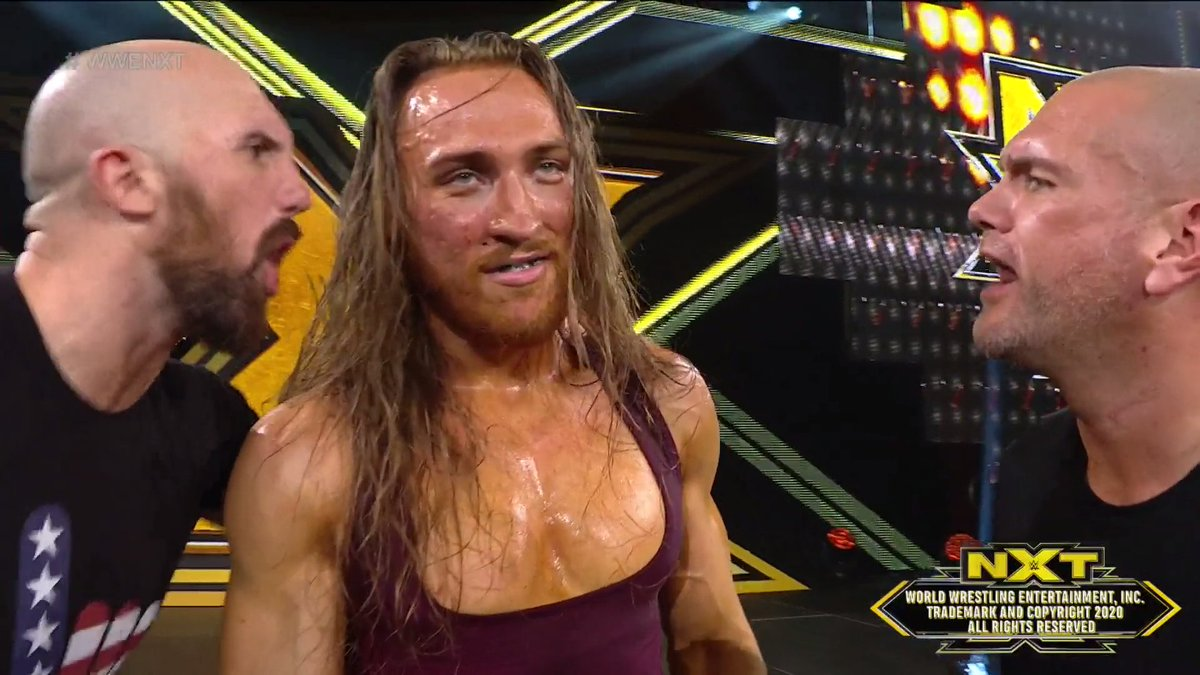 Replying to @WWENXT: w i n n e r  #WWENXT #WarGames @PeteDunneYxB @ONEYLORCAN @strongstylebrit