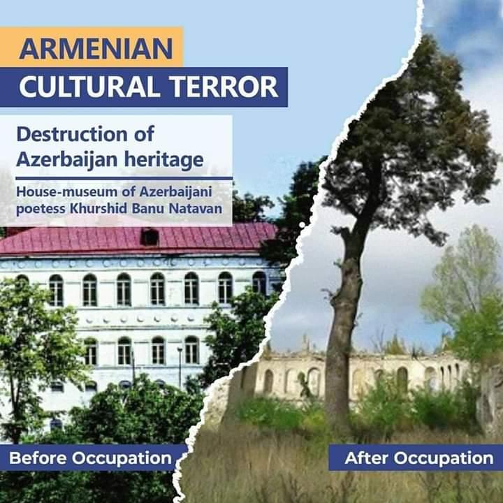 #KarabakhisAzerbaijan #Dontbelievearmenia https://t.co/XiLLYuvFAX