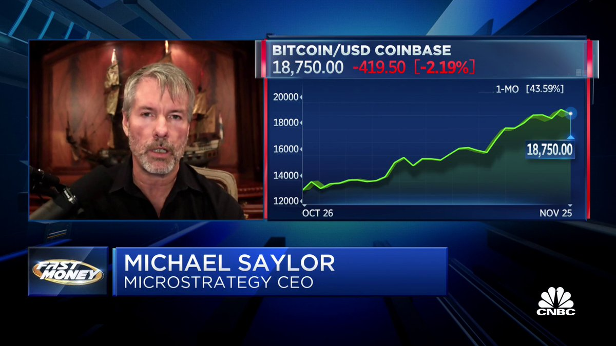 Looking to join in on the bitcoin boom? A new report from @CitronResearch says @MicroStrategy could be your best bet. MicroStrategy CEO @michael_saylor shares why. $MSTR