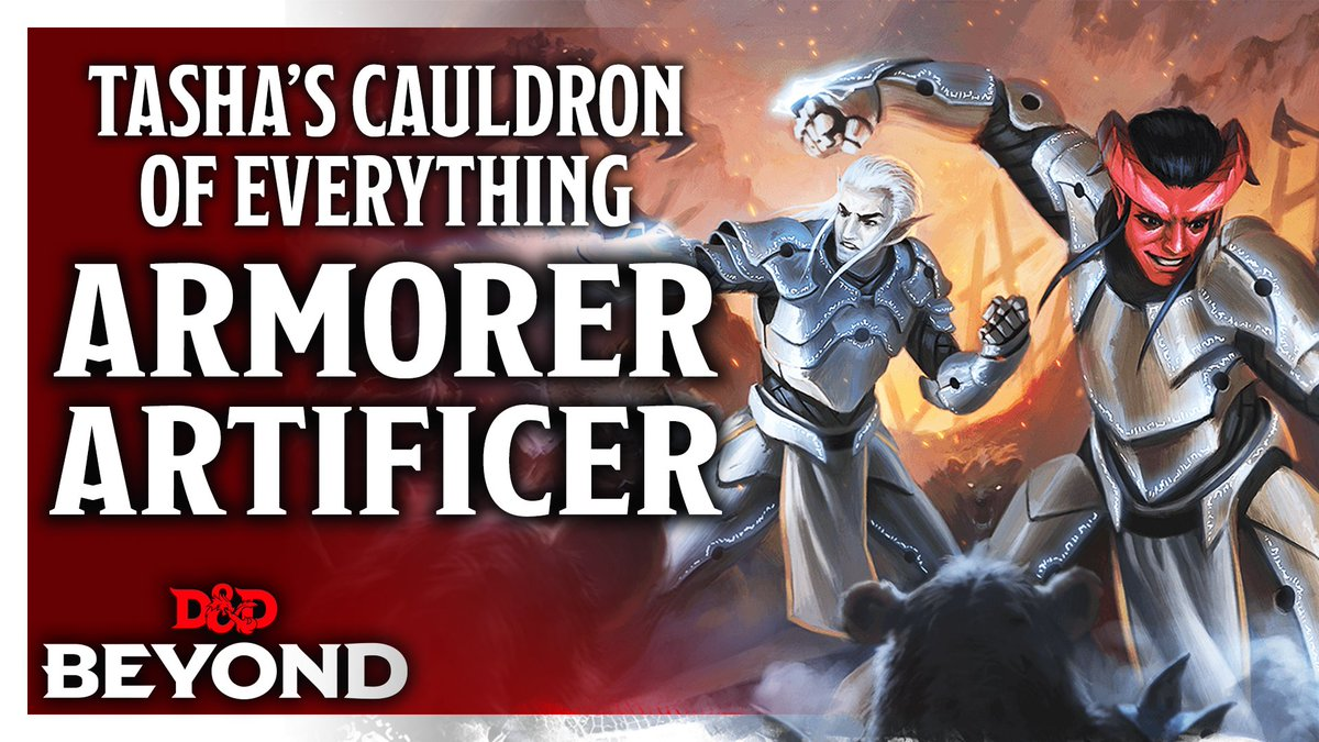 D D Beyond On Twitter With Tasha S Cauldron Of Everything Your Artificer Can Enhance And Modify Their Armor To Empower Their Attacks And Defense Watch Toddkenreck And Jamesjhaeck Break Down The Armorer The You prepare the list of artificer spells that are available for you to cast, choosing from the artificer spell list. d d beyond on twitter with tasha s