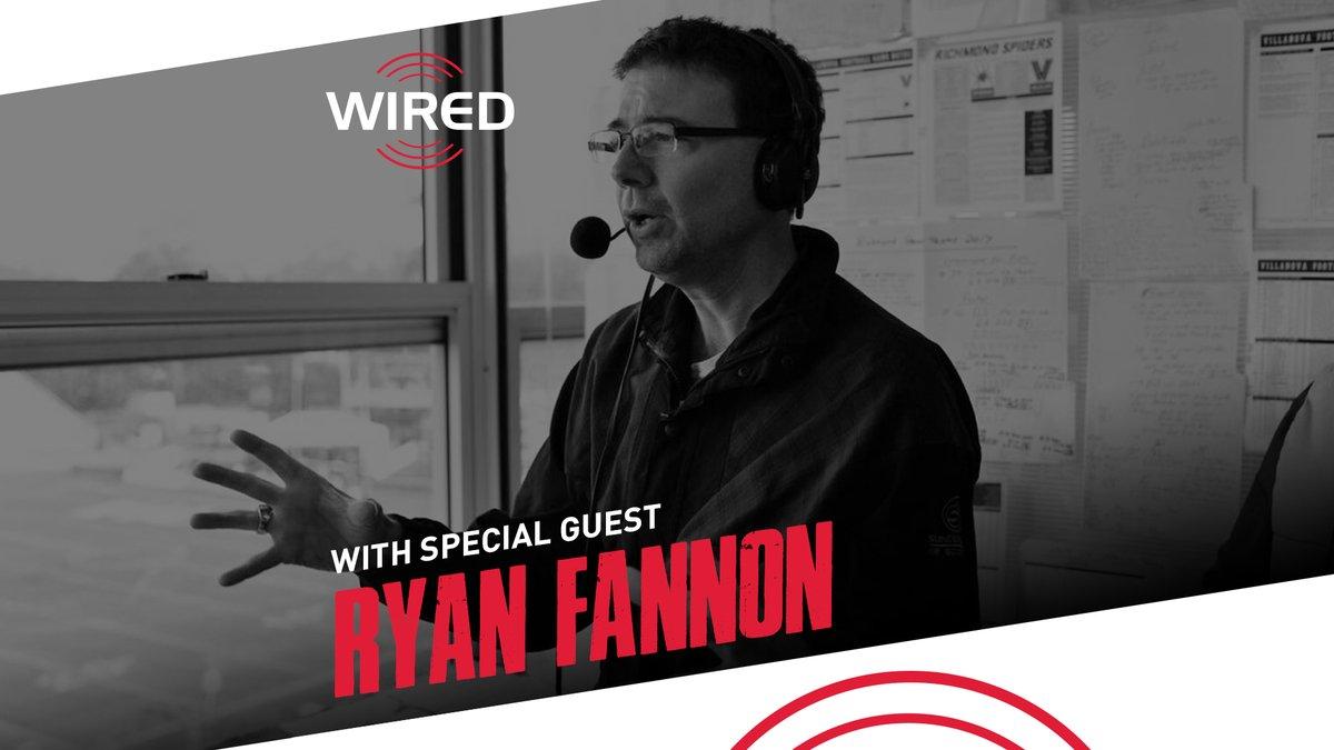 Listen in as @DerySpeaks links with @NovaMBB own Ryan Fannon: