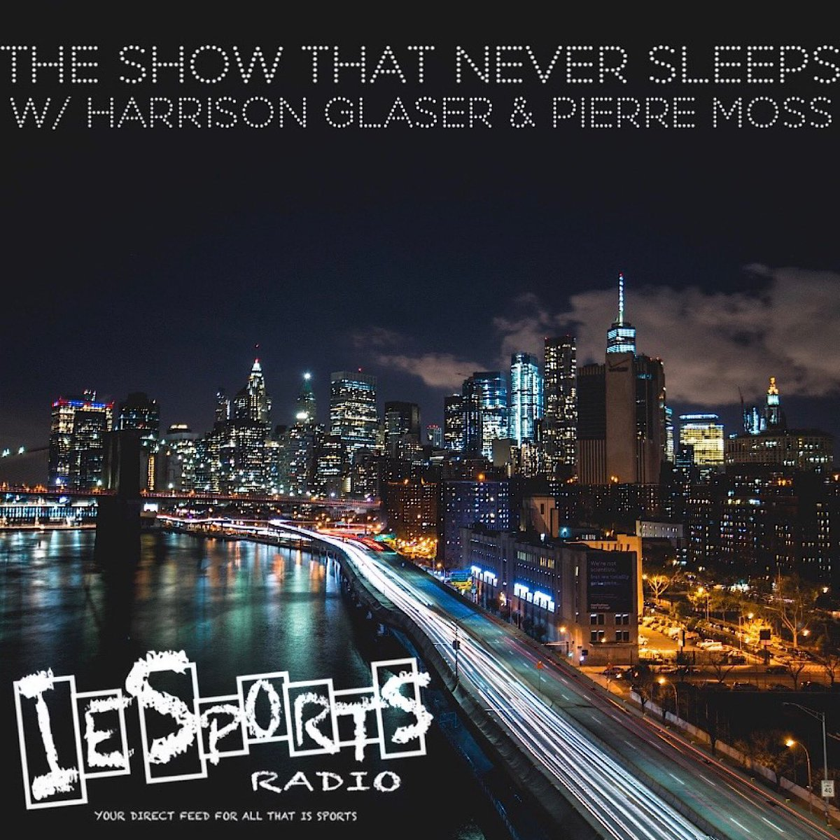 Tune in live for #TheShowThatNeverSleeps with @NYJetsTFMedia & @skywalker42811! #NFL #TakeFlight #TogetherBlue #MLB #NYYforNY #LGM #MLS #MLSCupPlayoffs #NYCFC #RBNY #NBA #NBADraft #NewYorkForever #WeGoHard  @ShowNvrSleepsIE