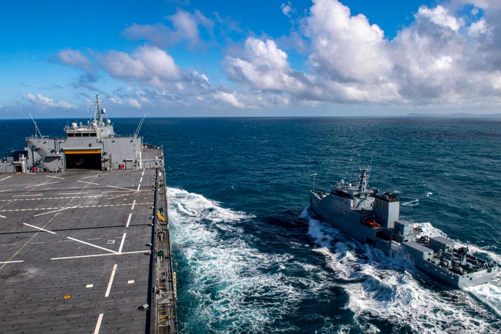 Operations alongside countries like Tunisia strengthen our collective ability to counter illicit activity in the region. #USNavys USS Hershel Woody Williams & Tunisian Navy Exercise Maritime Security Capabilities Full Story ➡️ go.usa.gov/x77Yr