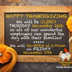 Image for the Tweet beginning: Happy Thanksgiving to all of