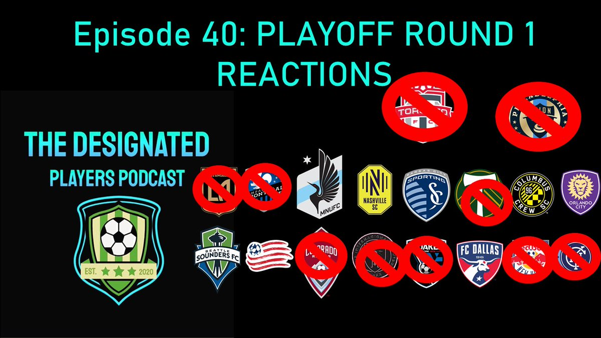 Episode 40 is LIVE! MLS Playoffs Round 1 had some of the craziest action of the year, so of course we had to react to it! Check it out on YT or our website to hear us chat about #InterMiamiCF, #RBNY bowing out early and the craziest PK shootout in history!