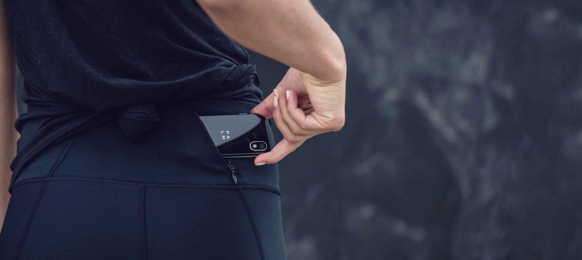 Looking for a gift for someone who likes to stay fit and on-the-go?  Palm fits inside any pocket with ease, so you can say goodbye to being weighed down on a run, hike or bike ride. Join our #PalmCrew today! #LifeMode #PalmPhone #LiveLifeEasy