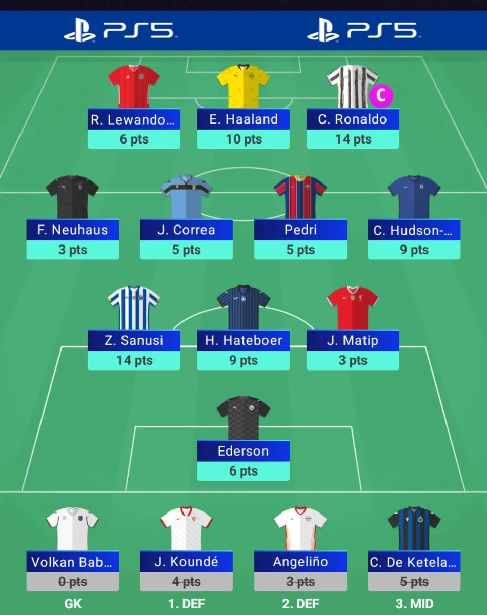 #UCLFantasy  84 all out.  Zaidu Sanusi. That's it. What a god.