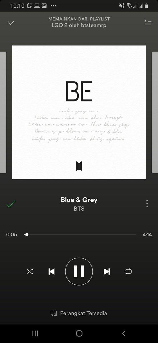 @ARMYTEAMIID @BTS_twt Blue & Grey mantap betul  #BEstARMY   #방탄소년단 #BTS @BTS_twt