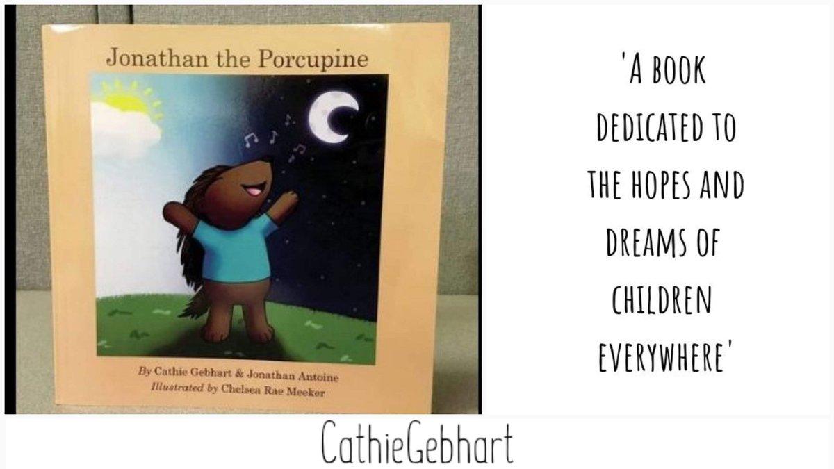 """JonathanThePorcupine"" #audiobookrecomendation      by Cathie Gebhart and English tenorJonathan Antoine. #BeKind - #bekindness -#BeKindToAllKinds - #AntiBullyingWeek -#BullyingAwarenessWeek - @TheFantoines -#childrensbook"