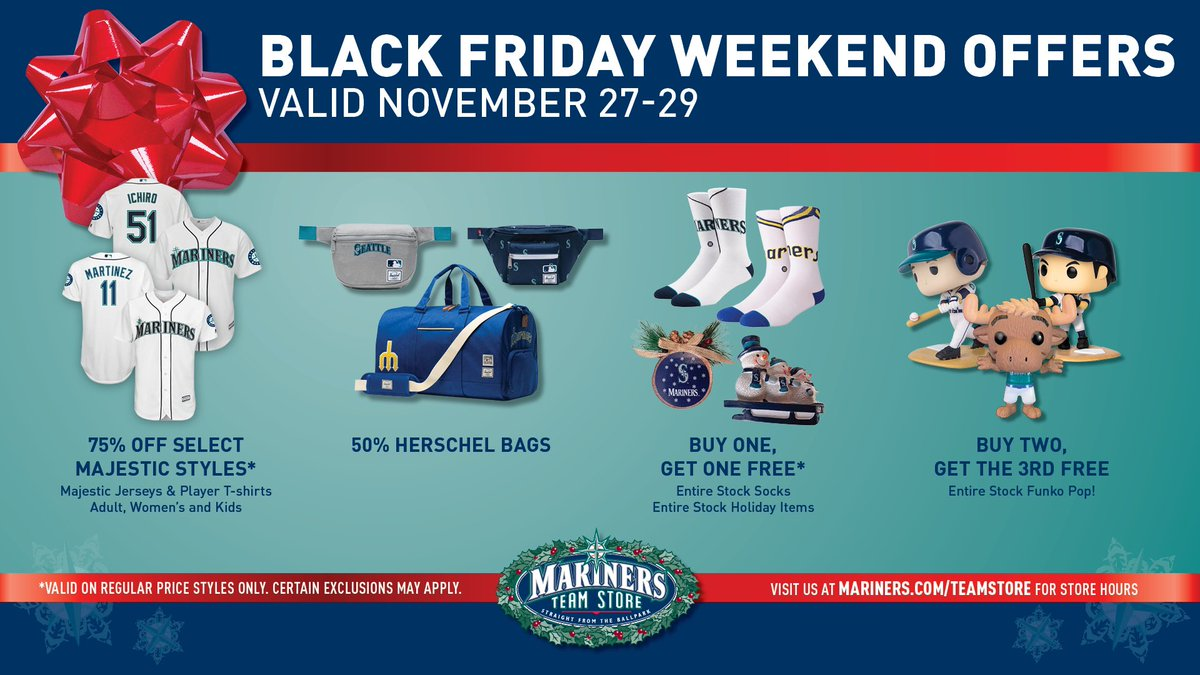 Here's a sneak peek at our Black Friday offers valid all weekend! 🙌