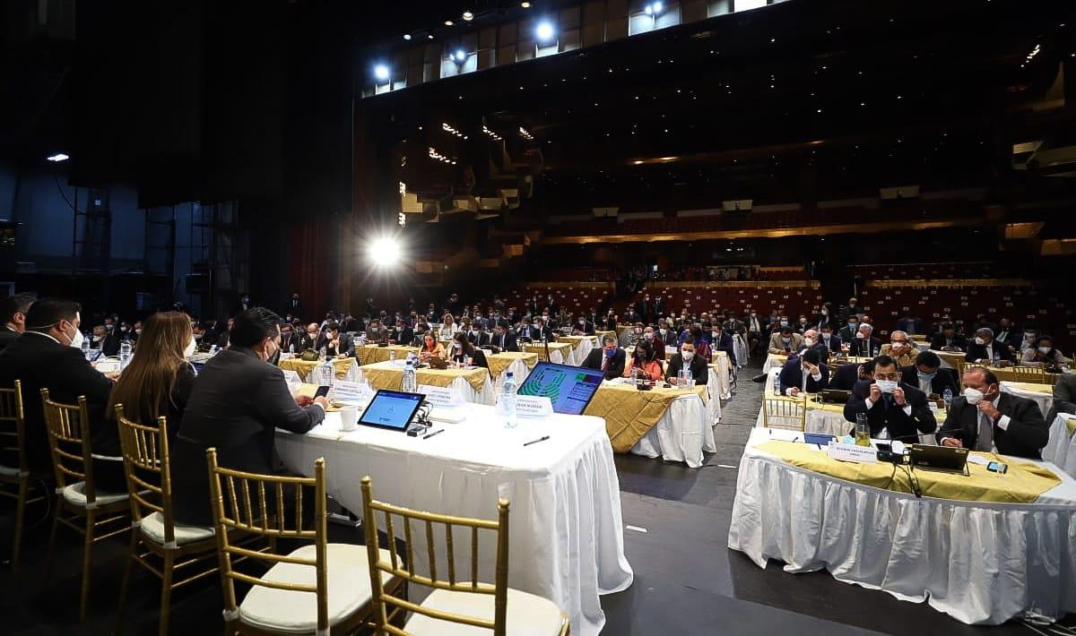 test Twitter Media - Diputados votan para derogar el Acuerdo Legislativo que contiene el Presupuesto de ingresos y egresos del Congreso de la República. https://t.co/0F2Q34NaZR