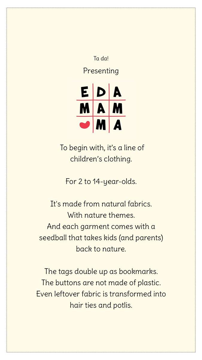 Presenting Ed-a-mamma ♥️