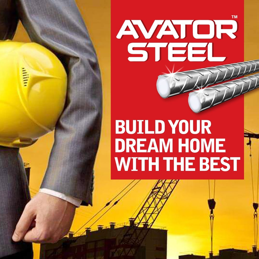 Made with the latest technology, the strength of avator steel is unparalleled! So turn your dream of building your home into reality with #AvatorSteel!