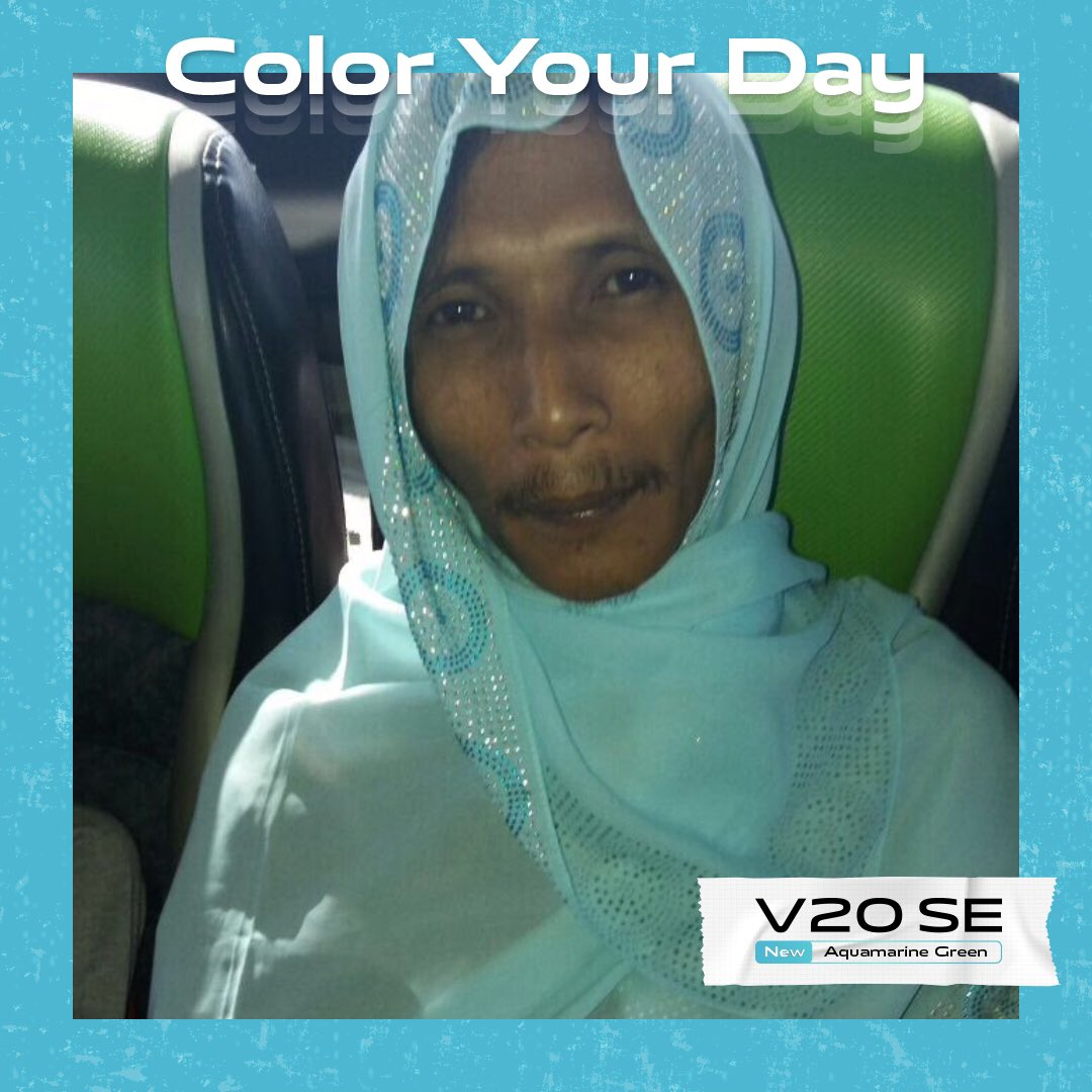#ColorYourDay  #vivoV20SEAquamarineGreen  @vivo_indonesia