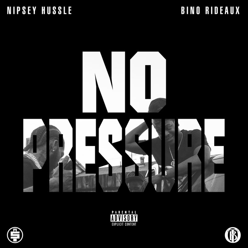 "3 years ago today Nipsey and @BinoRideaux teamed up on ""No Pressure"" mixtape 🏁  Prod by: @Mike_n_Keys Mixed by: @MixedByAli"