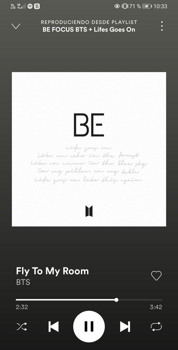 @ARMYForce_Peru Por ahora en Spotify #BTS_BE #LifeGoesOn #BTS #BTSARMY @BTS_twt