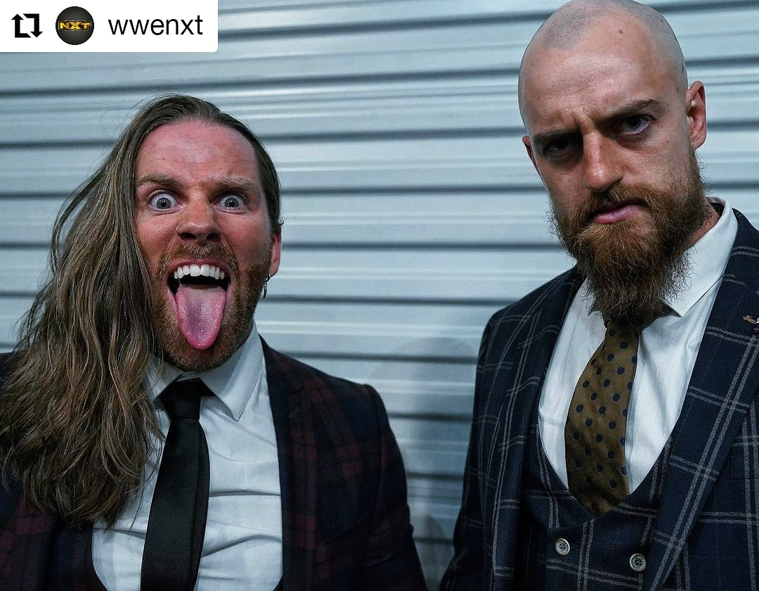 Replying to @ZackGibson01: The Boys Are Back In Town 🇺🇲  And if the boys wanna fight you better let em 🔜🔥 #nxt