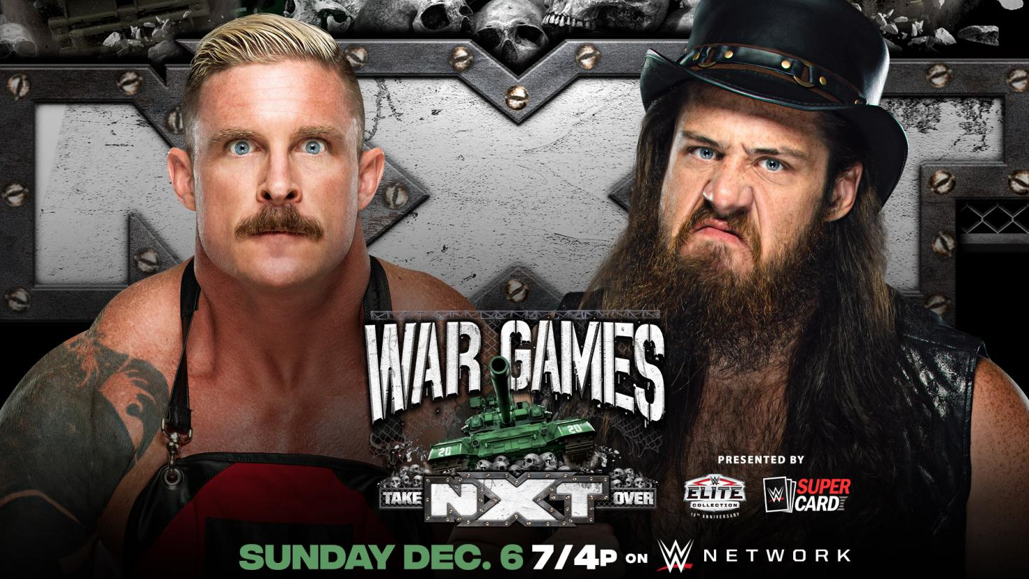 WWE NXT TakeOver WarGames 2020: Title And Strap Match Announced 1