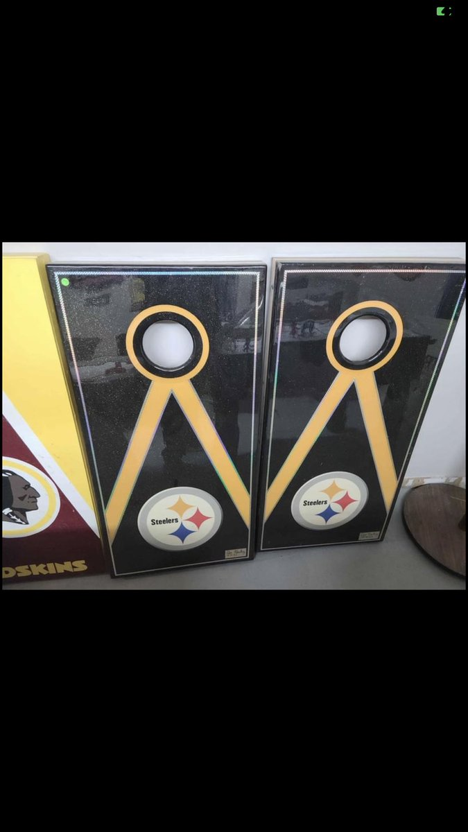 If any fans are interested I get these for $300 and they are awesome. Hand made with custom finish #steelers
