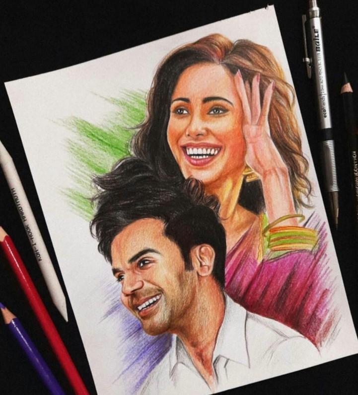 hope you like this #drawing 👇👇❤✍ ......... Insta- kr_pencil_drawings  #WorldPremiereOnPrime #ChhalaangOnPrime,  @PrimeVideoIN @ChhalaangFilm @Nushrratt @RajkummarRao  @mehtahansal @ajaydevgn @luv_ranjan @gargankur @itsBhushanKumar @ADFFilms @LuvFilms  .. biggest fan #GURU ✍