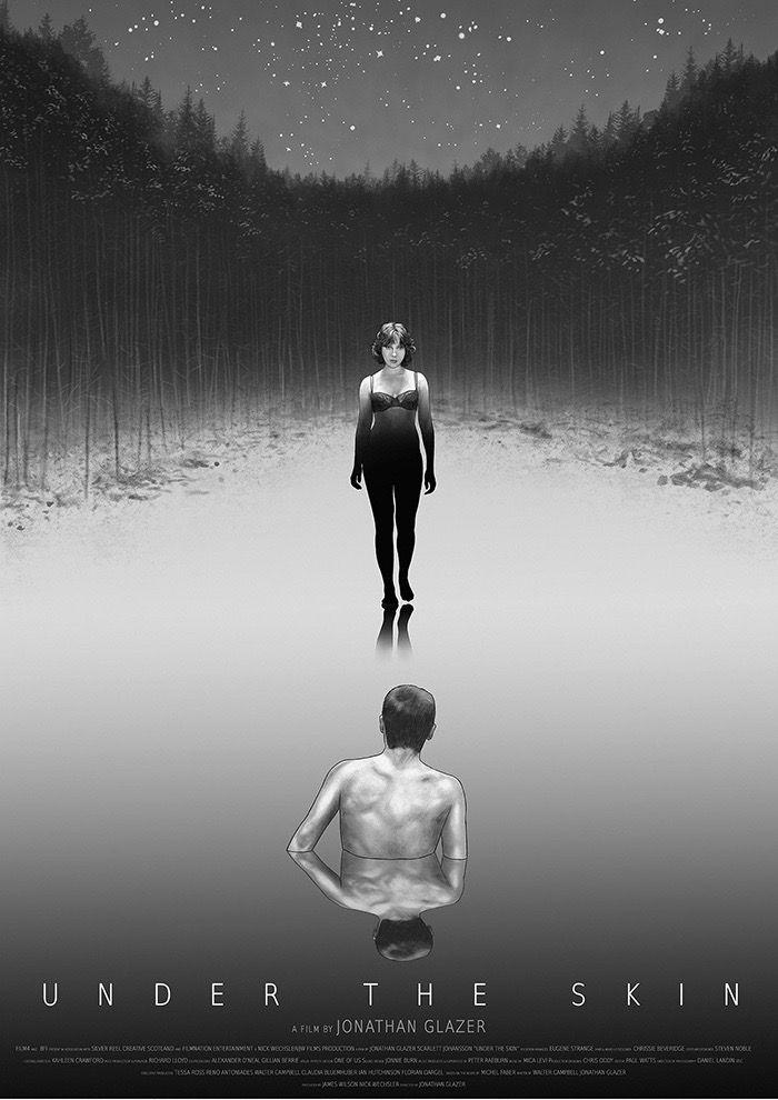 #ScarlettJohansson es de otro mundo. Aquí, imágenes de #UnderTheSkin, Bajo la piel, su  interpretación silente de un singular personaje. La película forma parte de nuestra recomendación de cine independiente en @Cinenúmeros