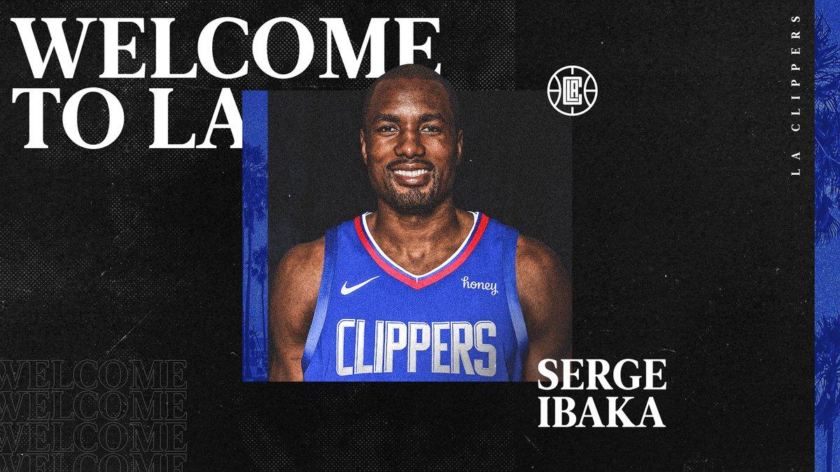 Welcome to LA, @sergeibaka! https://t.co/eRPeM9mozZ