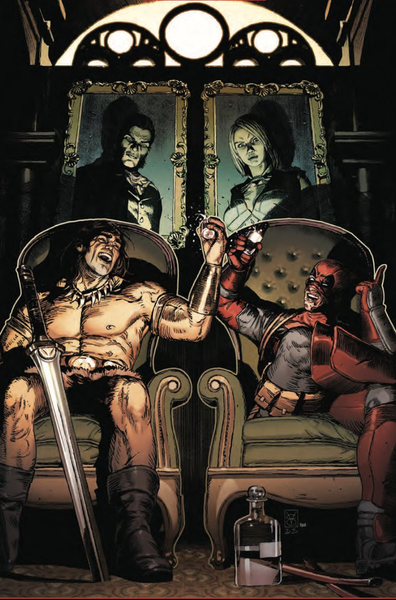 Savage Avengers seems like fun in '21. Join Conan, @Deadpool & Kev Walker this winter.