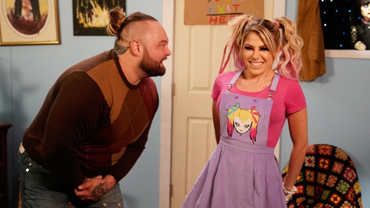 Thanks for everything, Friendship Frog.  The #FireflyFunHouse was a roller coaster of emotions on #WWERaw!  @AlexaBliss_WWE @WWEBrayWyatt
