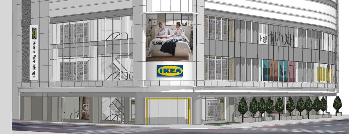 都心型店舗「イケア 新宿」2021年春にオープン、フォーエバー21が入居していたビルに出店