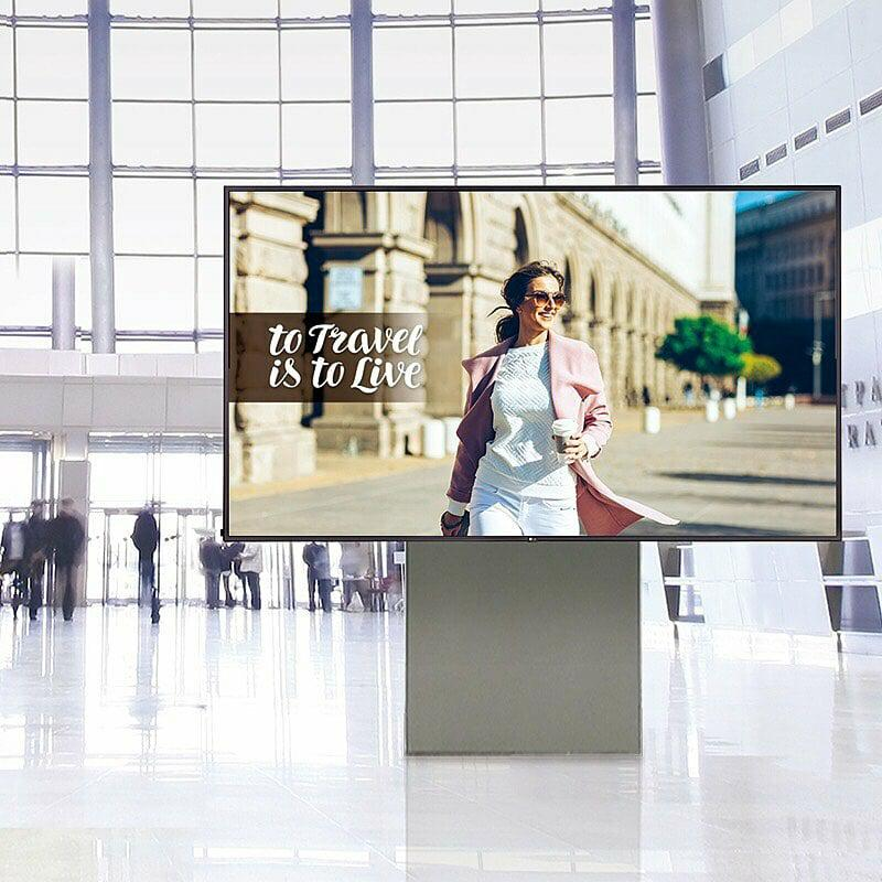 Featuring superb picture quality and cutting-edge intelligence, the LG UH5E series brings content to life, attracts attention and conveniently allows users to effortlessly control and manage the display. Get connected 020 8077704/info@talinda.net  #lgpartner #Digitalsignage