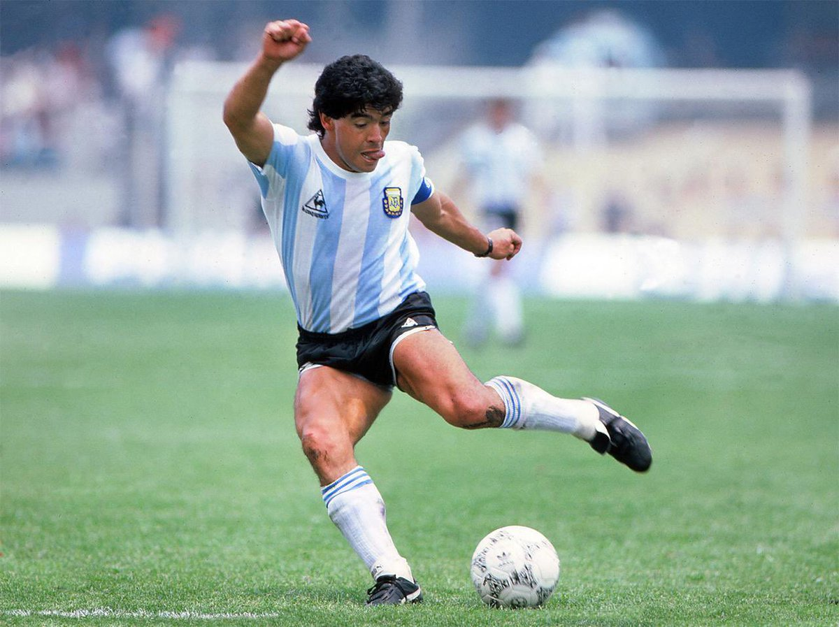 A true legend of the game. Your legacy will live on forever. RIP #Maradona