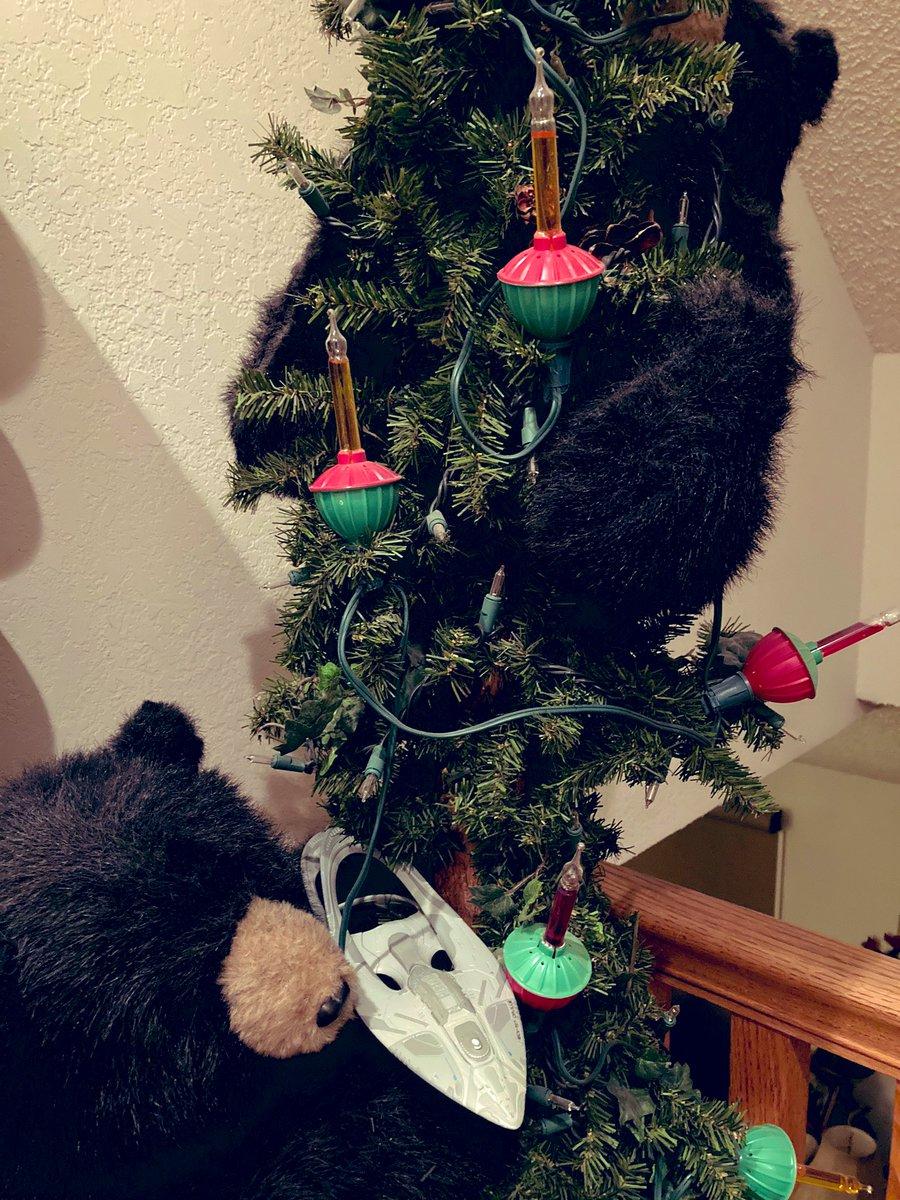 What do you guy's think? I put my USS Orville model on our tree! 🎄 #TheOrville @SethMacFarlane @AdriannePalicki @ScottGrimes @PennyJJerald @markjacksonacts @jleefilm @jessicaszohr @halstonsage @joncassar @TomCostantino