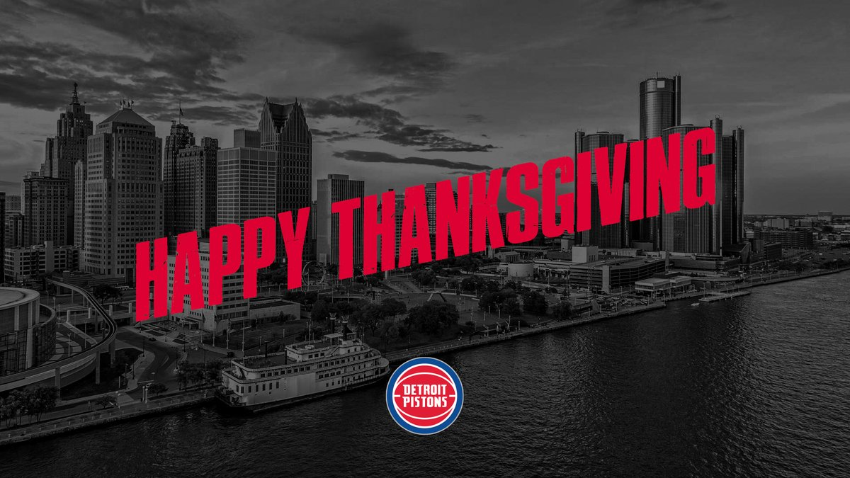The Pistons tipped off the Season of Giving by hosting a Thanksgiving experience outside the Henry Ford Detroit Pistons Performance Center to help those in need during this challenging holiday season. @meijer https://t.co/uloV8TdHYf