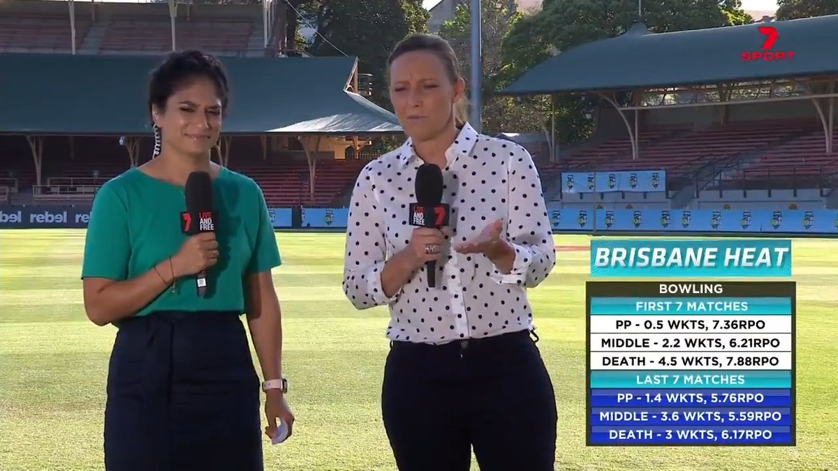 • The Heat's turnaround • Both sides' key bowlers • Amelia Kerr's form • The Thunder youngsters  @sthalekar93 and @julia_price1 have plenty to dissect leading into tonight's semi final! #WBBL06