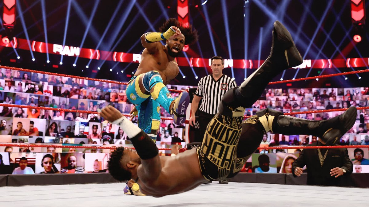 The #NewDay has had one incredible week to say the least!  #AndStill #WWERaw Tag Team Champions...@TrueKofi & @AustinCreedWins!