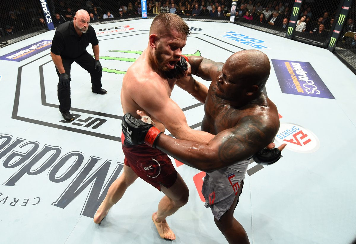 Most Knockouts in UFC Heavyweight History! 💥  @TheBeast_UFC is back at #UFCVegas15 this Saturday! https://t.co/RpbSvit33F