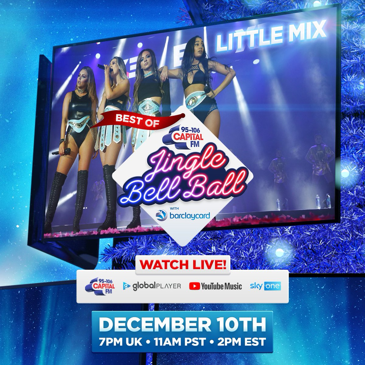 We'll be part of the #BestOfCapitalJBB this year 💗🔥. Make sure you're watching on 10th December - we can't wait!