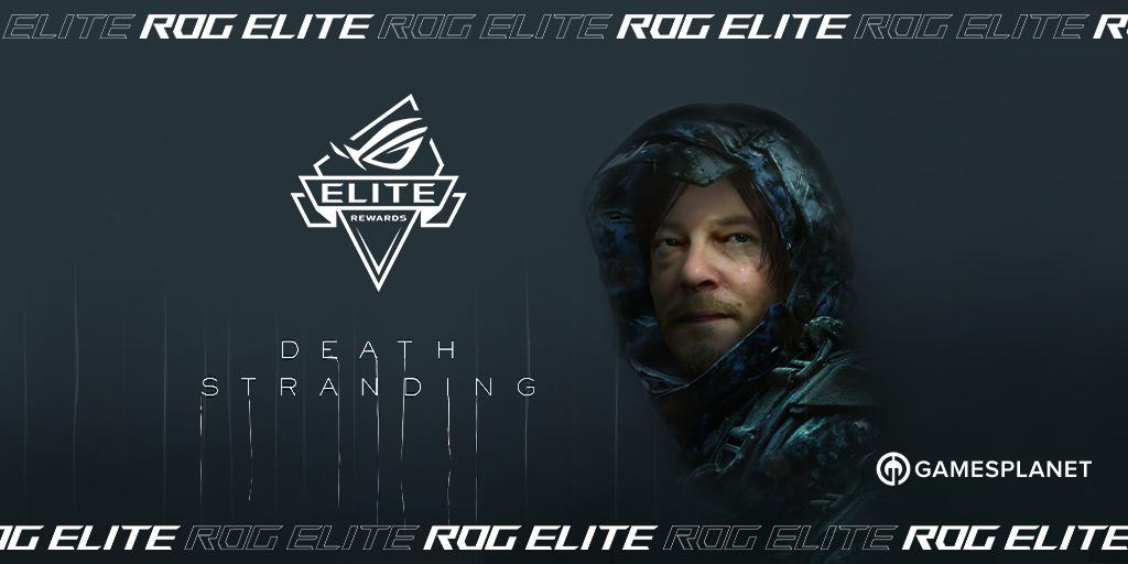 ASUSROG_UK - Redeem the Death Stranding game code ASAP 🏃♀️🏃♂️💨  Register and become #ROGElite member now 👉