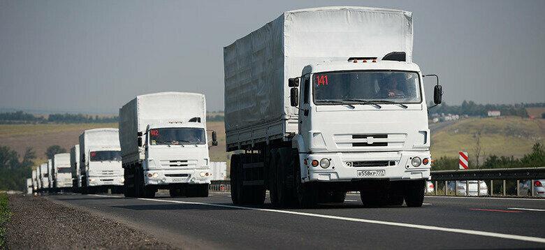 Россия отправила на оккупированный Донбасс 100-й «гумконвой»  В грузовиках, которые были заполнены на 40-50%, якобы перевозили медицинское оборудование и медикаменты #Донбасс #ОРДЛО #Россия #гумконвой https://t.co/aluDKOS8bM