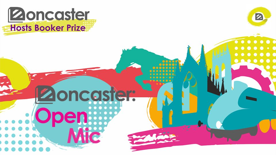 Tonights the night! 🌠 Join our virtual Open Mic at 7pm for a night of readings from talented Doncaster writers, @FJMoz and @lemnsissay. Stay tuned for a special announcement! #DoncasterBooker fb.me/e/1TAoYAXwJ
