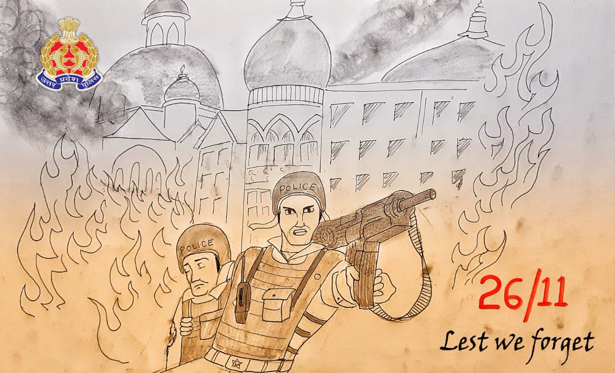 Remembering the Bravehearts who protected the nation at the cost of their lives.   A day to resolve, to stand in unison against terrorism & safeguard the unity & integrity of the nation !  #MumbaiTerrorAttack #2611Attack  #2611Martyrs #Martyrs #IndianPolice #Police #Terrorism