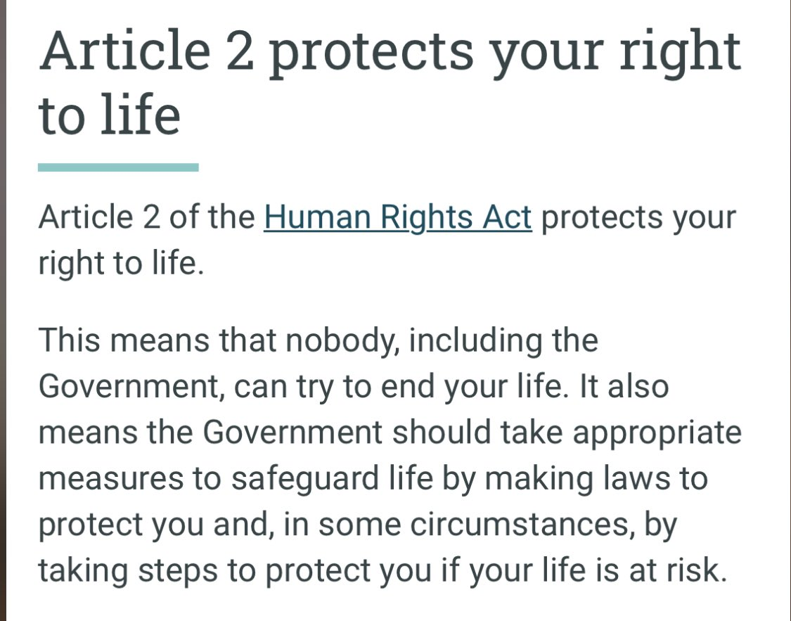 My Thoughts!  You can take steps to protect human life.