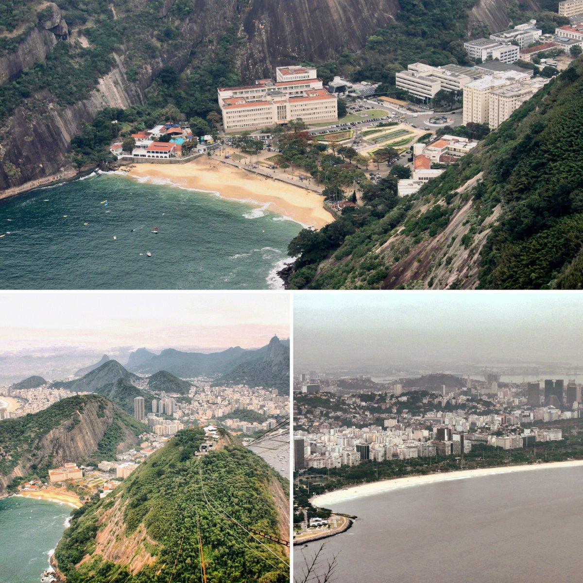 Allez aujourd'hui je vous emmène en voyage destination Rio de Janeiro petite vue en hauteur vue du pain de sucre One love #travel #traveling #TFLers #vacation #visiting #instatravel #instago #instagood #trip #holiday #photooftheday #fun #travelling