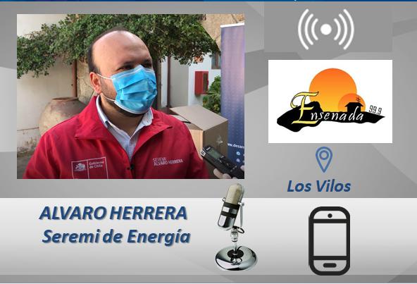 ✅ATENCIÓN: Desde las 11:30 los invitamos a escuchar al Seremi Alvaro Herrera por 📻 Radio Ensenada de #LosVilos para enterarse de las novedades del plan solidario de los pagos de  cuentas de luz y la estrategia de #hidrógenoverde de @MinEnergia 👍📲 https://t.co/LLT323hUG3 https://t.co/jCHdC8nDg1