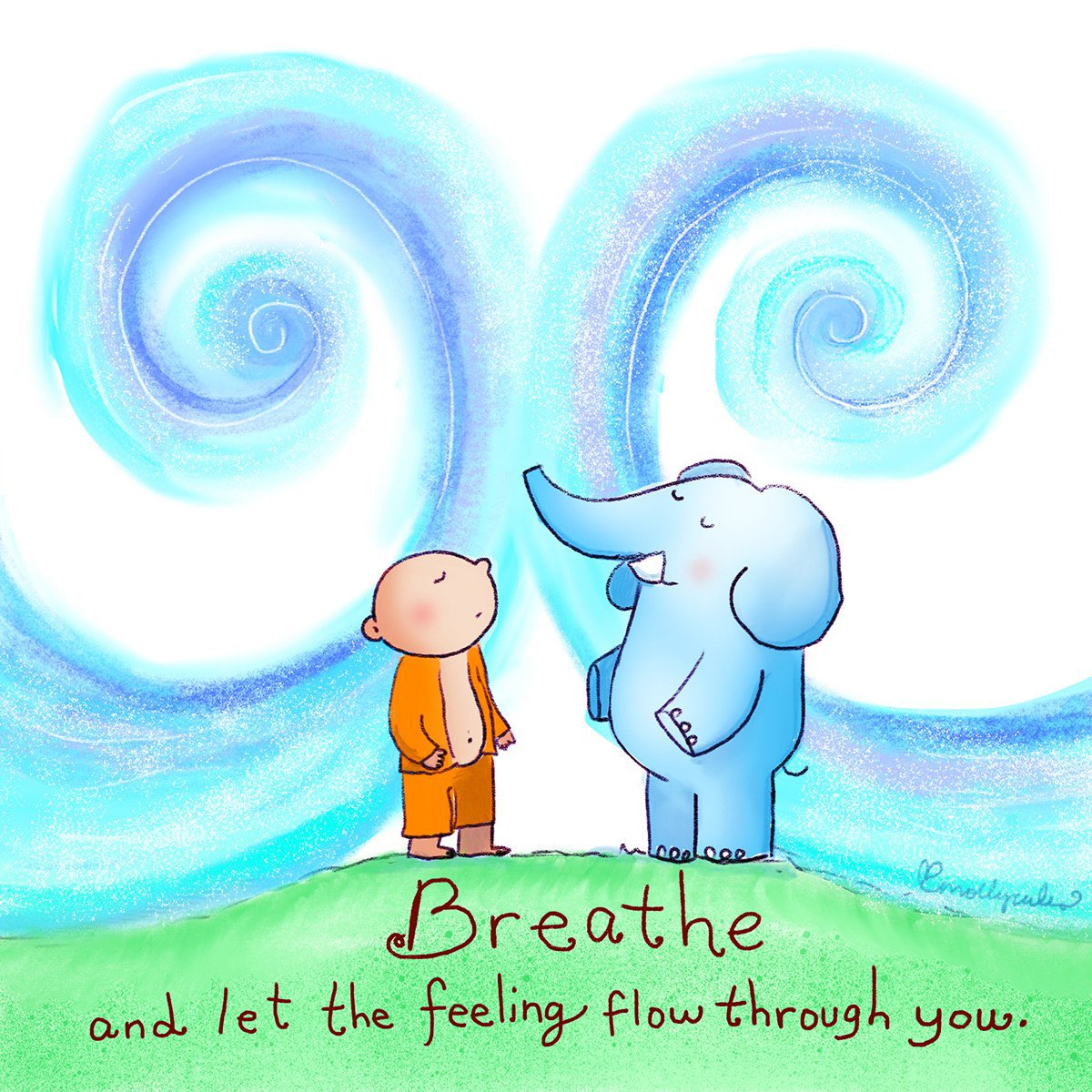 Today's lesson: Breathe and let the feeling flow through you. #breathe #breatheinbreatheout https://t.co/4wR3viEPBh