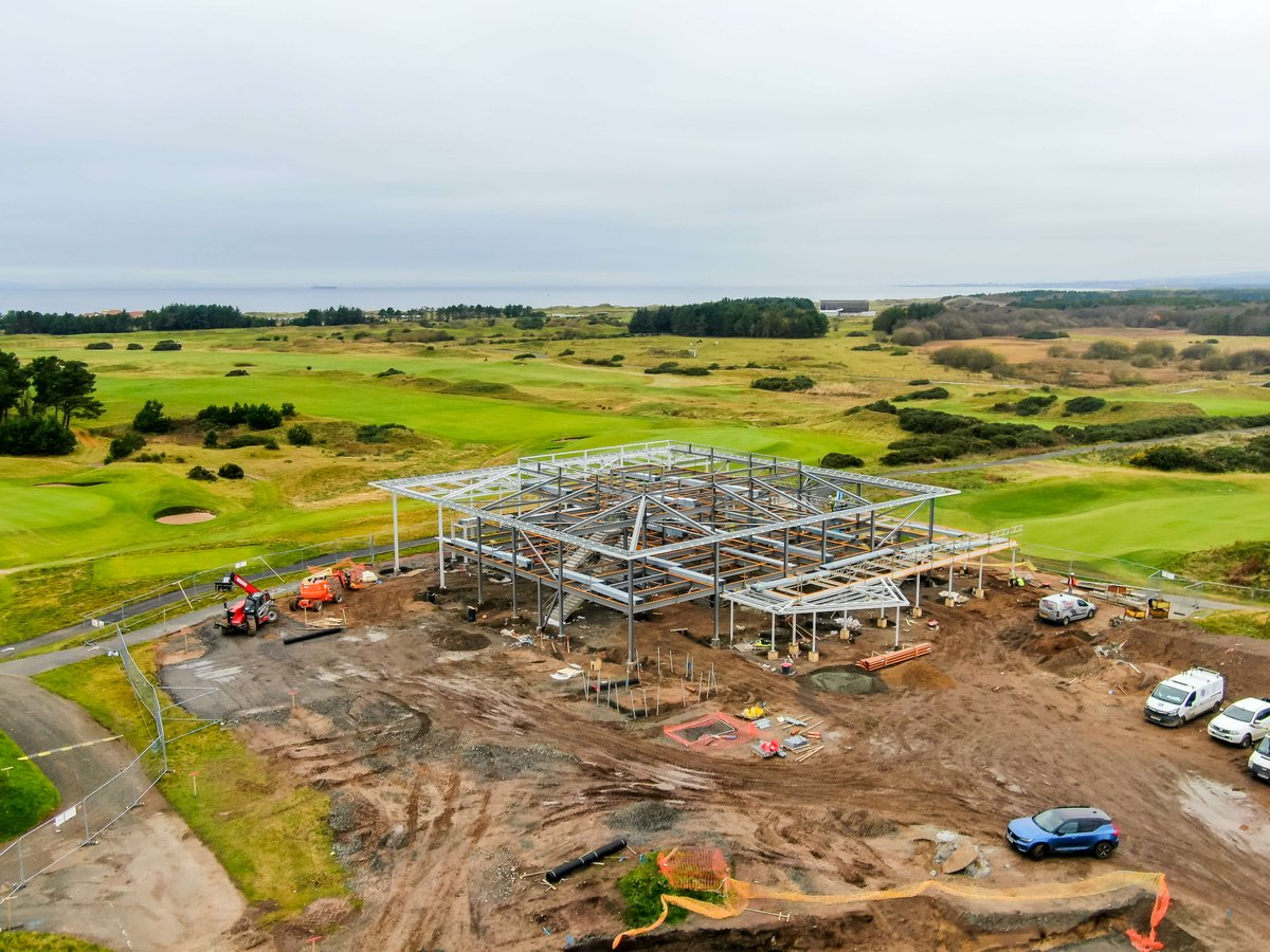 Take a look at our latest update - the development is progressing at pace now 👍 dundonaldlinks.com/development-at…