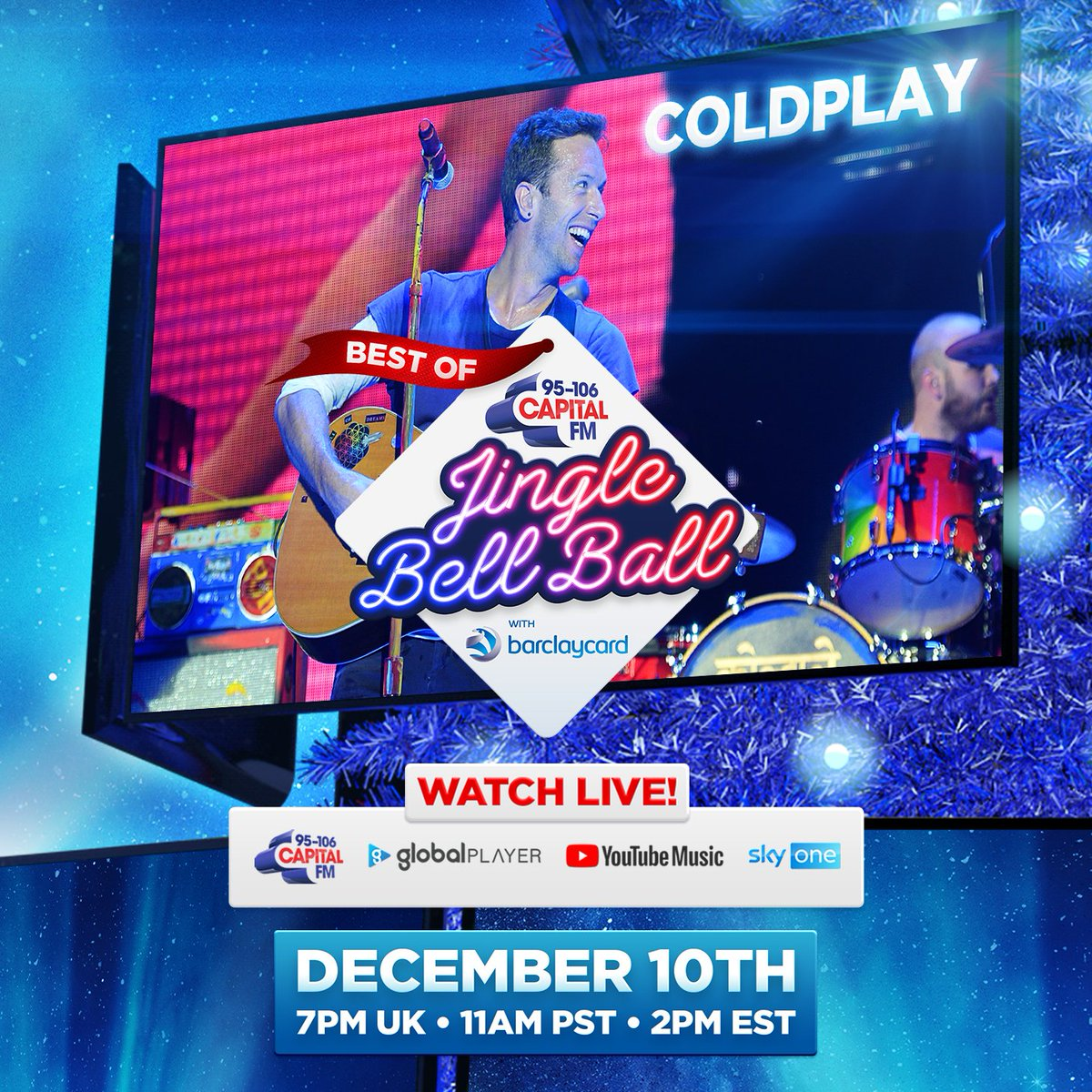 📅 Best Of @CapitalOfficial's Jingle Bell Ball   Thursday, 10 December     #BestOfCapitalJBB 🎄