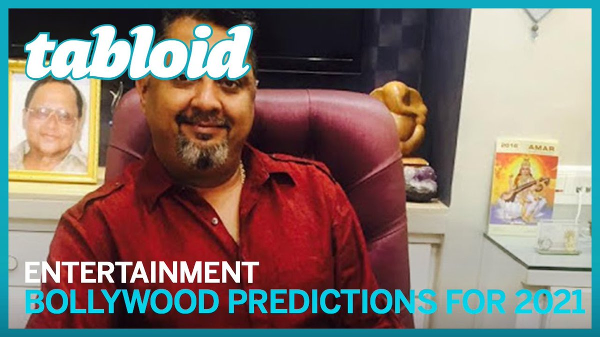 #Video: #Bollywood #predictions for 2021 by celebrity astro-numerologist Sanjay B Jumaani: