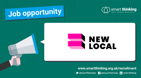 🚨NEW JOB ALERT🚨 @wearenewlocal are looking for a SENIOR COMMUNICATIONS OFFICER to help them build on their new identity and further increase the impact of their work - find out all the details 👇 ow.ly/imAM50Cu0Ew #commsjobs #thinktankjobs